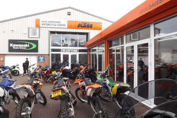 Our Rackheath Motorcycle Showroom