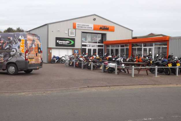 Dave Barkshire Motorcycles in Norwich, Norfolk