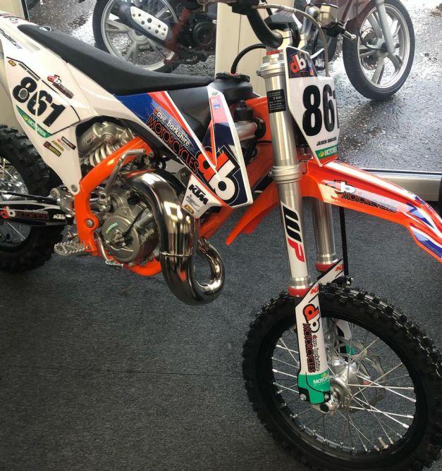 Brand new 2021 race bike for Sponsored rider @jaiden_donoghue