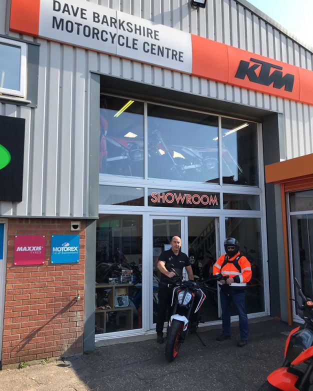 Phil's early doors collection of his brand new KTM 890 Duke, 24th June