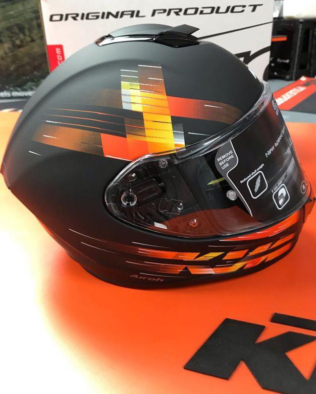 KTM Airoh ST501 Helmet in stock now! Sporty, multi-purpose street helmet