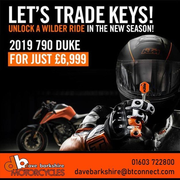 Lets Trade Keys: 2019 790 Duke, Feb 2020