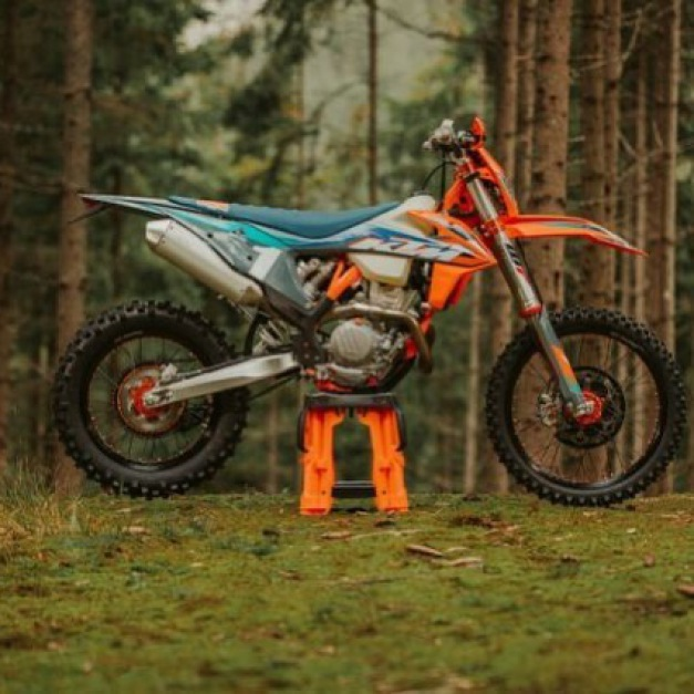 Introducing the 2021 KTM 350 EXC-F WESS at Dave Barkshire, 29th Sept