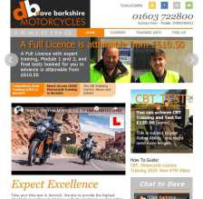 Dave Barkshire M/C Training website
