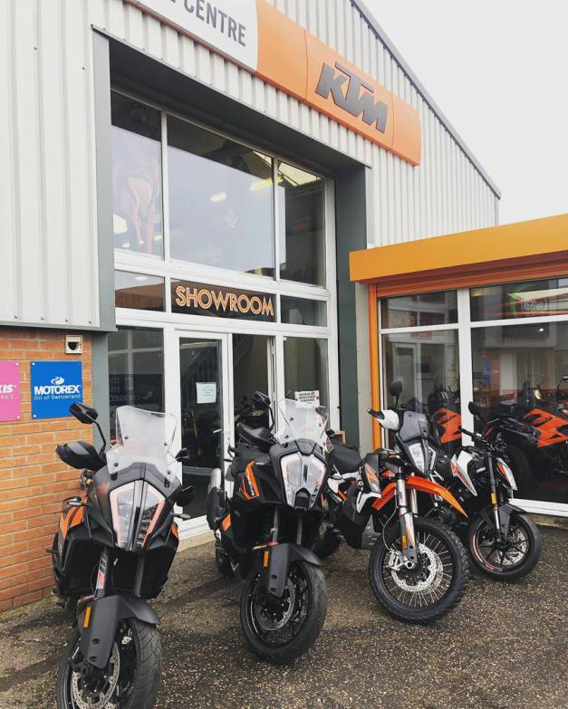 BUSY DAY AHEAD! New bikes ready for collection and day of test rides, 26th June