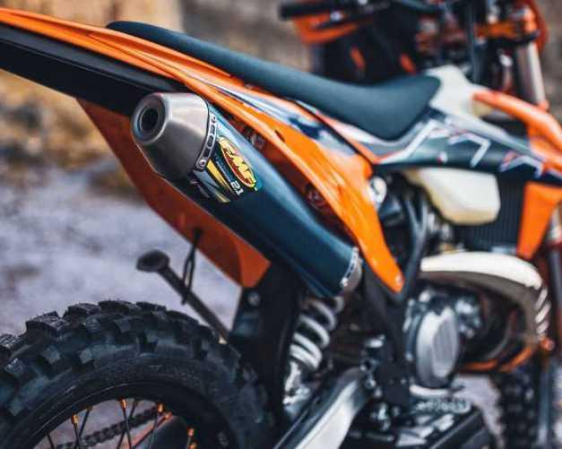 KTM Enduro Bikes 2022 detail