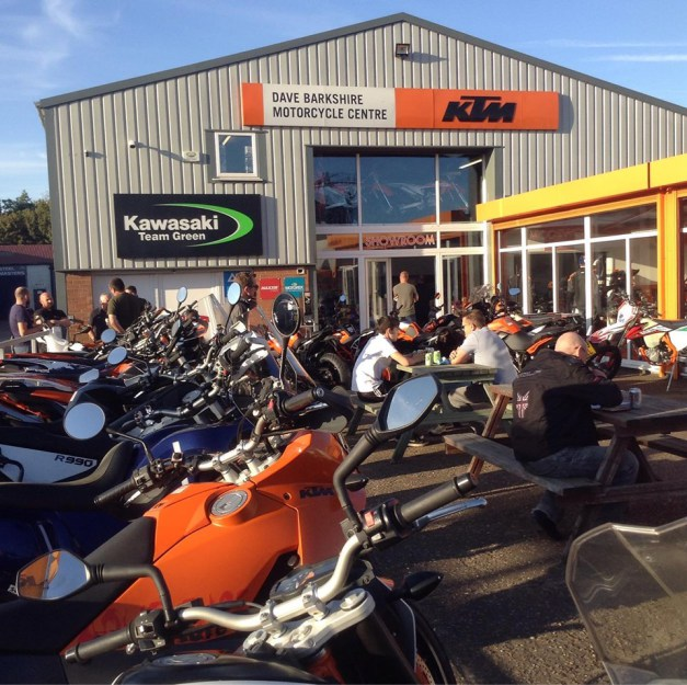 Dave Barkshire Showroom open day